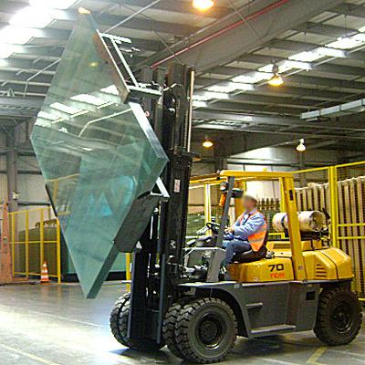 Equipamentos para transportar o vidro